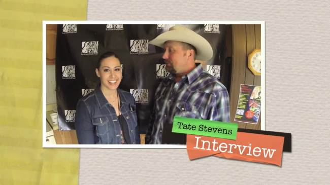 Andria Lea interviews Tate Stevens