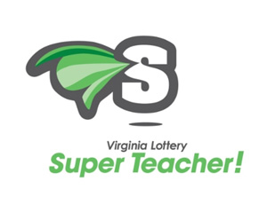 2013 Virginia Lottery Super Teacher (logo).  (PRNewsFoto/The Virginia Lottery)