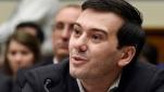Former pharmaceutical CEO Martin Shkreli, shown in this Feb. 4, 2016 file photo, has been suspended from Twitter for allegedly harassing Teen Vogue writer Lauren Duca. (AP file)